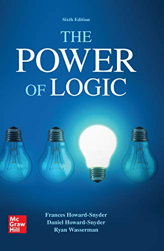 The Power of Logic (English Edition) eBook: Frances Howard-Snyder ...