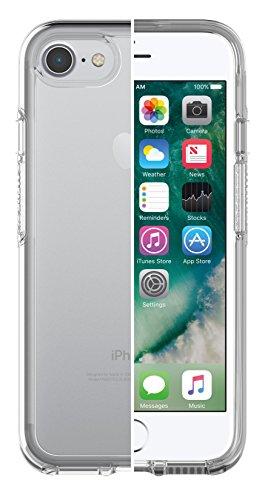 OtterBox Symmetry clear hoch-transparente sturzsichere Schutzhülle für iPhone 7/8, transparent (Klar, Otter Box Case)