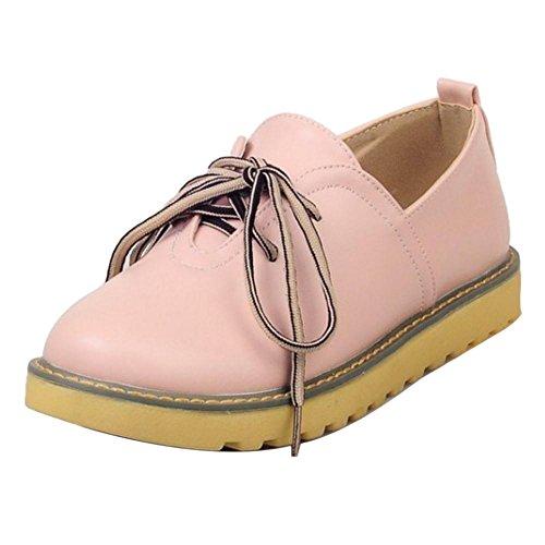 TAOFFEN Donne Moda Skateboard Scarpe Pink