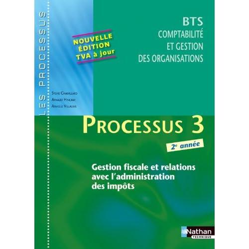 Processus 3 - Gestion fiscale et relations avec l'administration des impôts - BTS CGO 2e année