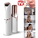 Meya Happy 100% Painless Hair Remover Machine For Women - Upper Lip, Chin, Eyebrow Trimmer Shaver (Free Battery Included)