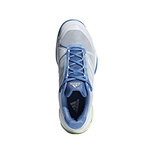adidas Barricade Club Tennisschuh - SS18 bleu gris/blanc/jaune pale
