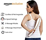 Best Back Massagers - Lifelong LLM45 Rechargeable Tapping Body Massager With 3 Review