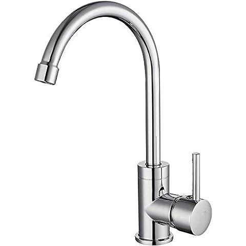 Single Lever Kitchen Sink Taps,Swivel Spout Monobloc Kitchen Sink Mixer