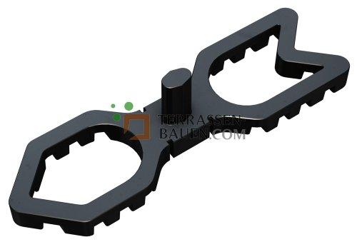 K&R Terracon Terrafix Abstandshalter, 7mm Abstandshalter, 600 Stück GROSSPACKUNG