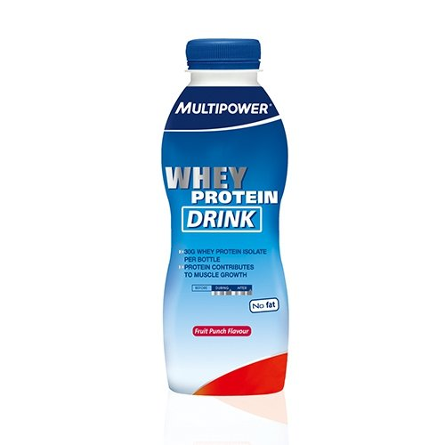 Multipower Whey Protein Drink (12x500ml) Fruit Punch