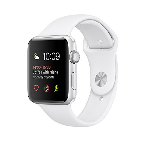 Apple Watch Series 1 38mm - Silver Aluminium Case with White Sport Band