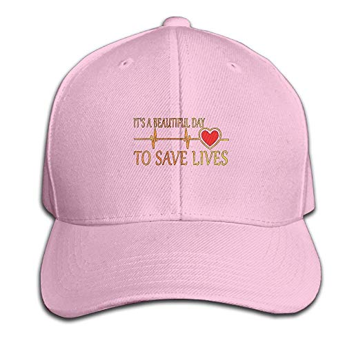 db05767d947 Its A Beautiful Day to Save Live Heartbeat Adjustable Baseball Caps  Unstructured Dad Hat 100%