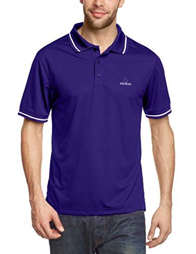 Odlo Herren Polo Shirt Short Sleeve Cruse Indigo