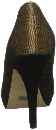MENBUR Brent 04731, Scarpe con tacco donna Marrone (Chameau)