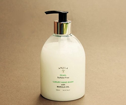 ARULA BEAUTY Luxury Hand wash 500ml, Made in Britain, Free from Sulfates, Parabens, Silicone, Dyes, Colouring