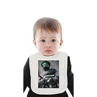 Hell Rell Organic Baby Bib With Ties Medium