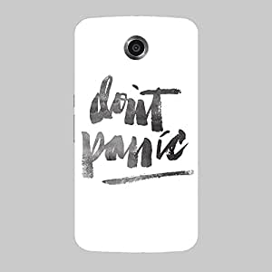 Back cover for Nexus 6 Don't Panic