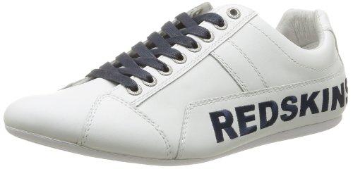 Redskins Toniko, Baskets mode homme Blanc (Blanc/Marine)