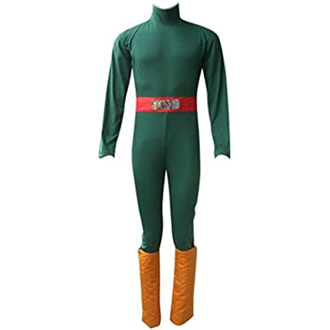 Dream2Reality Anime giapponesi Naruto Costumi Cosplay -Rock Lee 1st Ver