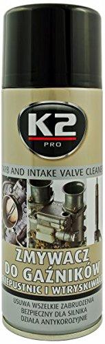 K2 Carburador Spray, uno Limpiador de inyectores, carburador Limpiador, Spray 400 ML