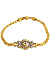 Bhima Jewellers 22Kt Yellow Gold Bracelet For Women