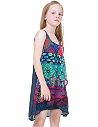 Desigual - Vestido - trapecio - para niña