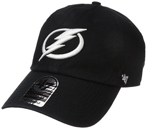 '47 Brand Tampa Bay Lightning Clean Up Adjustable NHL Cap Schwarz