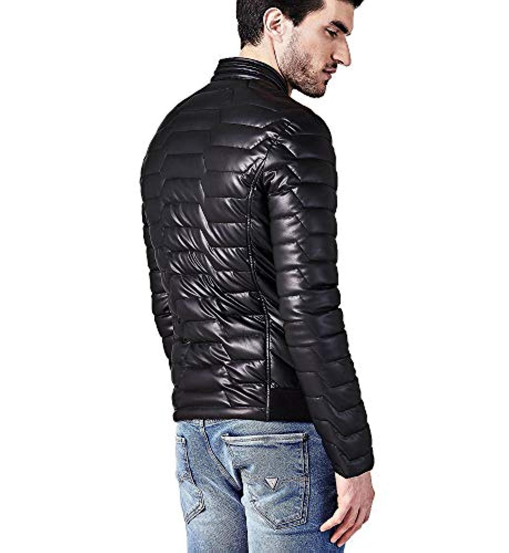 Guess Jeans Doudounes Jeans m84l36 Noir modèle 70362 1b14efdab88