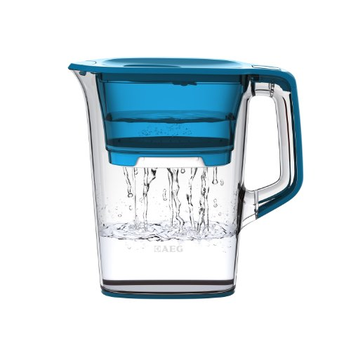 AEG AWFLJL4 Wasserfilter AquaSense 1000, Blau