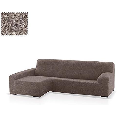 Funda de sofá Chaise Longue Eneasis, Brazo Izquierdo, tamaño estándar (220-280 Cm.), Color 06 (varios colores