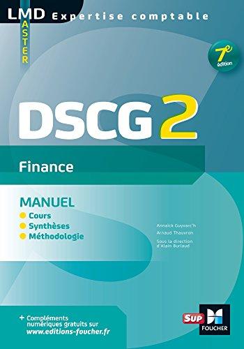 DSCG 2 Finance Manuel 7e édition