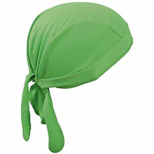MYRTLE BEACH - Bandana casquette polyester - adulte mixte (Vert citron)