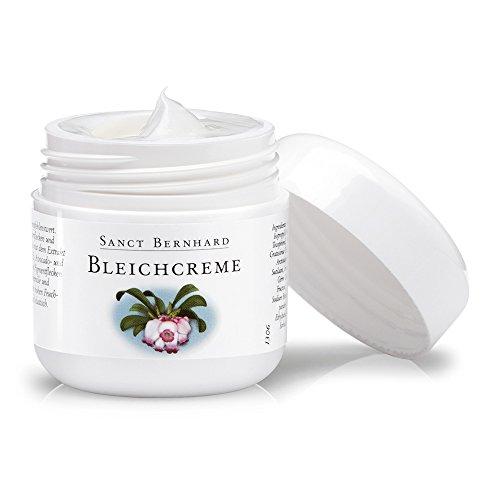 Sanct Bernhard Bleichcreme mit Bärentraube-Extrakt, Vitamin C, E, Avocadoöl, Getreidekeimöl 50 ml