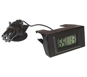 La Sommeliere -THYG01- Thermomètre et hygromètre à affichage digital adaptable sur les clayettes en bois