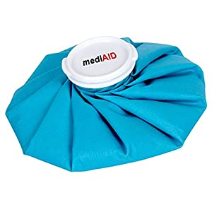 mediAID Eisbeutel, Kühl-Eisbeutel, türkis, 21cm Durchmesser