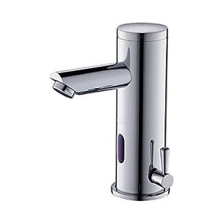 41Mj0%2Bm7HBL. SS324  - Auralum - Grifo de Lavabo con Sensor Automático Electrónico para Agua Caliente y Fría