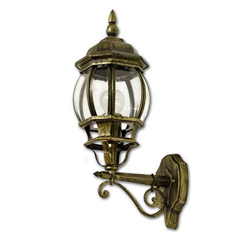 Antike Wandaußenleuchte Brest aufwärts E27 60W 230V IP44 Wandlampe Außen Hof Garten