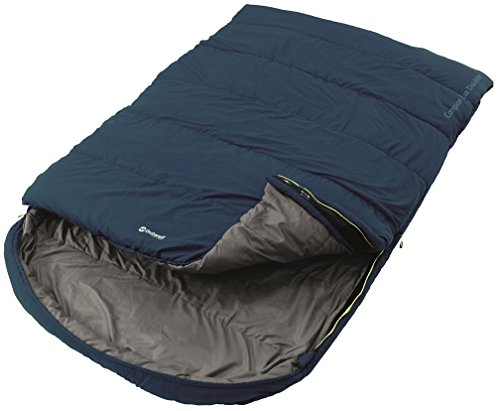 Outwell 3 Season Blue Double Campion Lux Sleeping Bag Camping Equipment