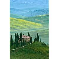 Feelingathome-STAMPA-ARTISTICA_x_cornice-Italia,-Toscana-Bella-verde-della-campagna-cm61x40-arredo-POSTER-fineart
