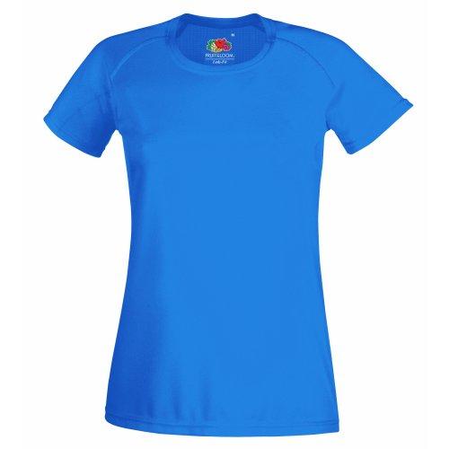 Fruit of the Loom Damen T-Shirt Ss075m Königsblau