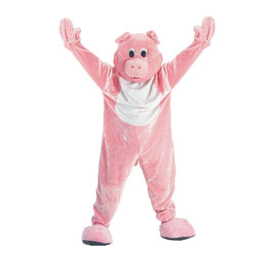 achsenes Schwein-Maskottchen-Kostüm-Set (Schwein Maskottchen Kostüm)