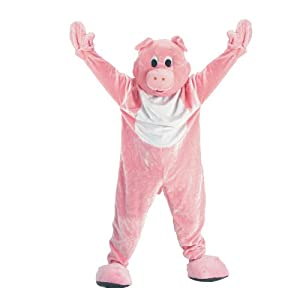 Dress up America Conjunto de Traje de Mascotaa de Cerdo para niños