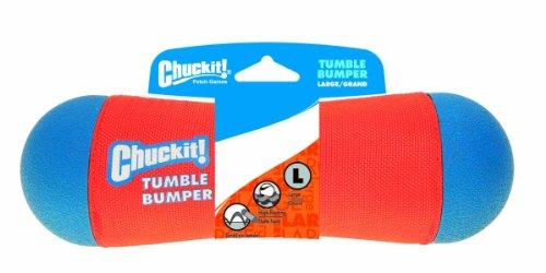 Chuckit CU184301 Tumble Bumper, Schwimmendes und springendes Spielzeug für Hunde, - Maul Hund Weiches