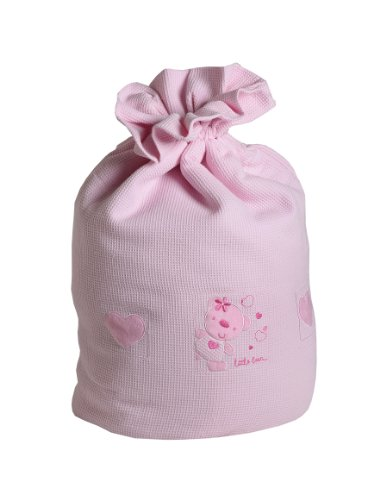 Baby Elegance Star Ted Laundry Bag (Pink)