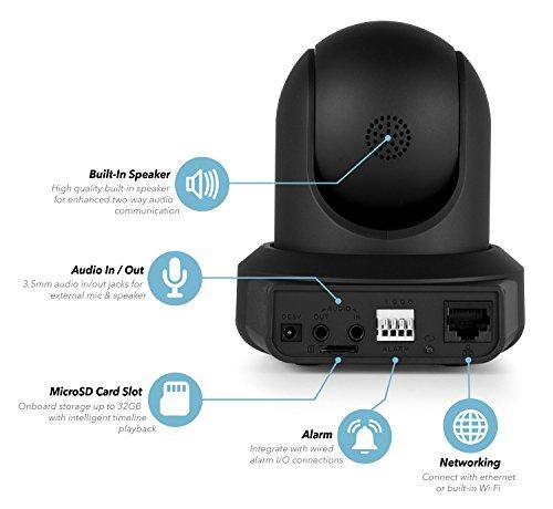 Amcrest ProHD IP2M-841B 1080P WiFi Telecamera senza fili con IP dotata di Pan/Tilt