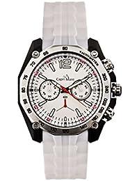 Capri Playa Reloj de Hombre colección truglio Caja de polímero y Correa de Silicona Funciones Cronógrafo