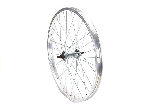 20 Zoll Vorderrad Fahrrad Felge Vorderfelge 36 Loch Speichen mit Hutmuttern