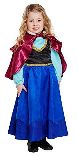 Fancy Ice Kostüm Princess Dress - FANCY DRESS KINDER ICE PRINCESS 3 JAHRE