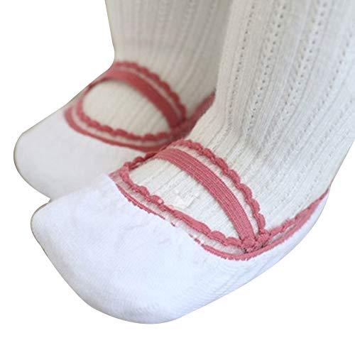 Schwere Kissen Socke (strimusimak Langlebige Baby Mädchen Sommer Rutschfeste Knöchelriemen Weichen Bootssocken Mit Niedlichen Spitzen-Design 9# SNone)
