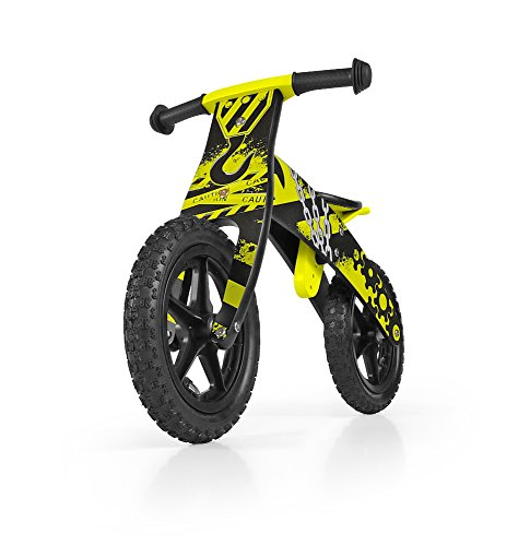Milly Mally Flip Balance Legno Bike Giallo