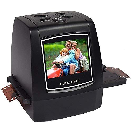 22MP Negative Slide Scanner Hohe Auflösung Viewer konvertiert 35mm Filmnegative und Dias in digitale Fotos, 2,36