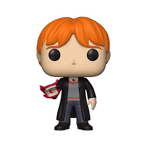 Funko 35517 Pop Vinilo: Harry Potter S5: Ron w/Howler, Multi