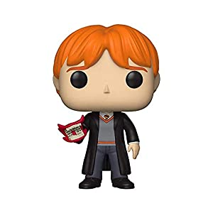 Funko 35517 Pop Vinilo: Harry Potter S5: Ron w/Howler, Multi