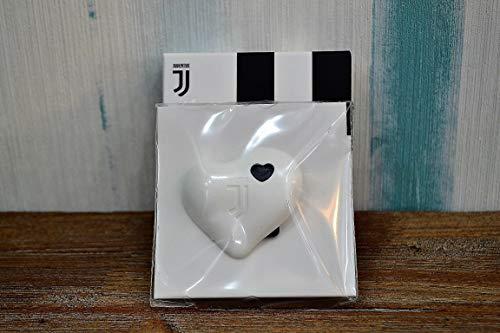 Profumo per Auto A Forma di CUORICINO Bianco Prodotto Ufficiale Juventus Made in Italy